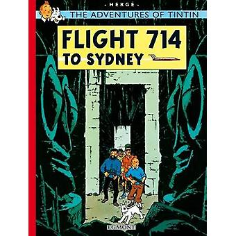 Flight 714 to Sydney by Herge
