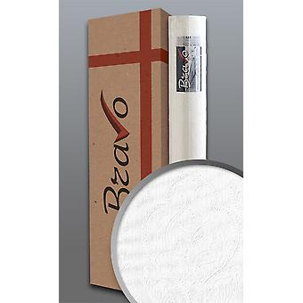 Baroque wallpaper EDEM 83002BR60 non-woven wallpaper for painting over structured with ornaments matt white 1 carton 4 wheels 106 m2
