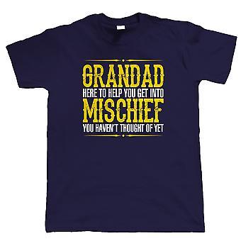 Morfar fortræd, Herre sjov T-Shirt
