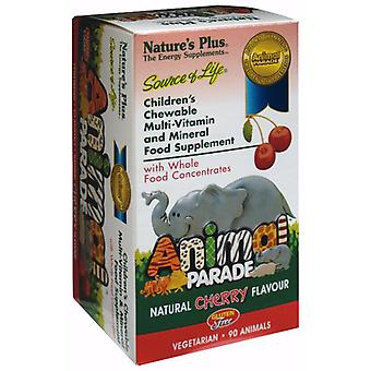 Natures Plus Animal Parade Cherry 90 (UK)