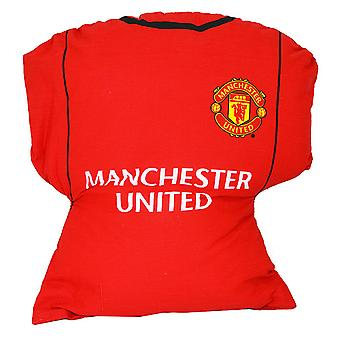 Manchester United FC Childrens/Kids Official Football Shirt Cushion