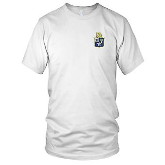 US Army - 45th Infantry Regiment Embroidered Patch - Mens T Shirt