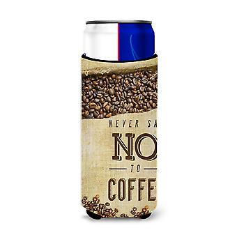 Aldri si nei til kaffe tegn Michelob Ultra Hugger for slanke bokser
