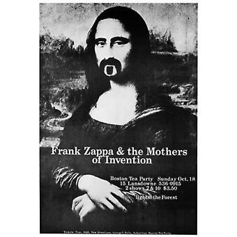 Frank Zappa Mona Lisa Poster Poster Print