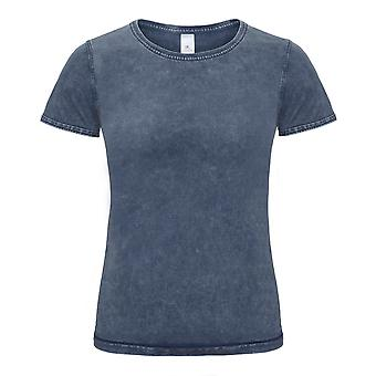 B&C Denim Womens/Ladies Editing Short Sleeve T-Shirt