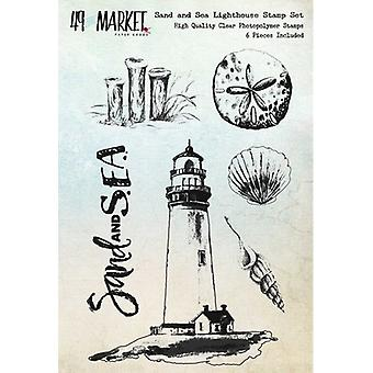 49 & Market Clear Stamps 4