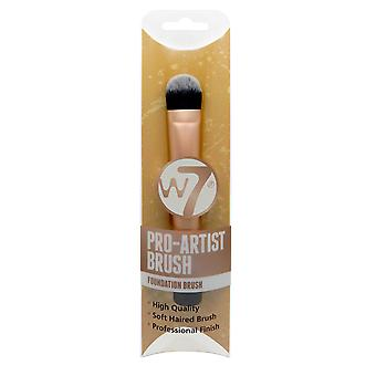 W7 Pro-Artist Foundation Make Up Brush