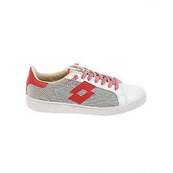 Lotto men's S8816WHTRED white/red fabric of sneakers