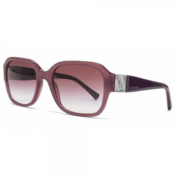 Giorgio Armani Square Sunglasses In Cherry Fabric Effect