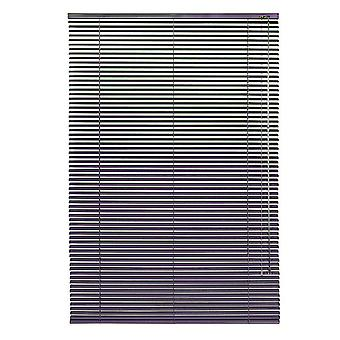 Luxury Aubergine Venetian Window Blinds - Home/Office - Aluminium - 100 x 240cm