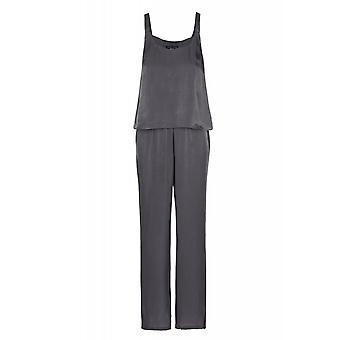 Shimmering jumpsuit one piece ladies gray ashley brooke by heine