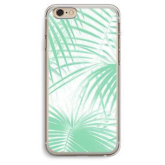 iPhone 6 Plus / 6S Plus caja transparente (suave) - hojas de Palma