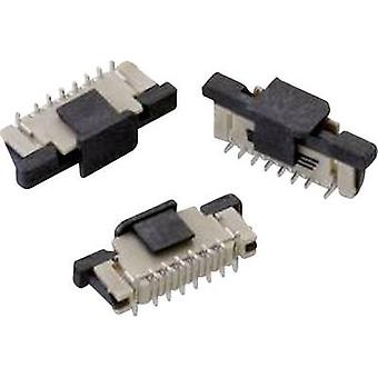 Receptacles (standard) ZIF FPC Total number of pins 12 Würth Elektronik 687312124422 Contact spacing: 0.50 mm 1 pc(s)