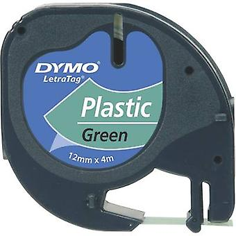 Labelling tape DYMO 91224 Tape colour: Green