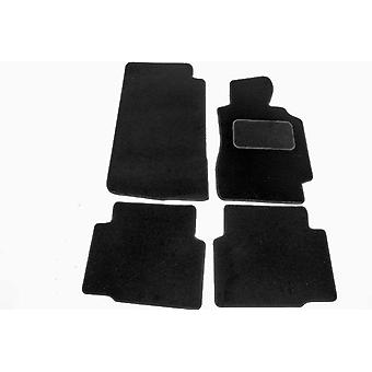 Custom Made Tailored Car Floor Mats For BMW 3 Series E36 Saloon 1992-1998, Black