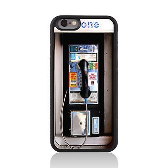 Call Candy Apple iPhone 7 Vintage Retro Old Skool Phone Booth 2D Printed Case