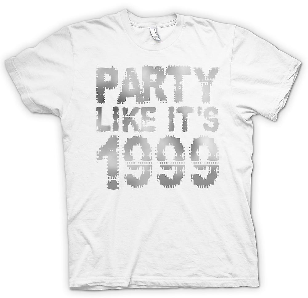 Womens T-shirt - Party Like Its 1999 - Cool