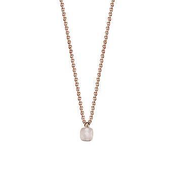 ESPRIT women's kedja halsband silver Rosé cubic zirconia Petite ESNL92833C420