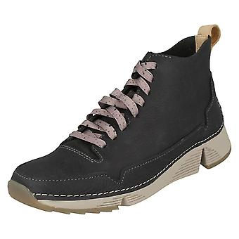 Ladies Clarks STRINGATE sportivo Ankle Boot Tri gratis
