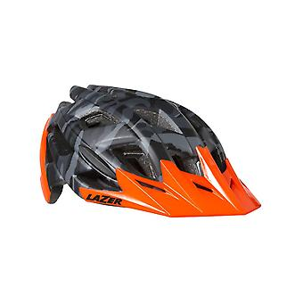 Lazer Matt Black Camo-Flash Orange 2018 Ultrax MTB Helmet