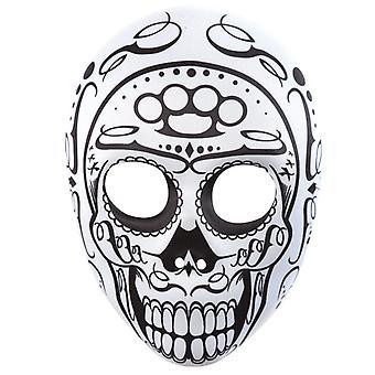 Giorno di Messico teschio maschera dell'orrore maschera morto