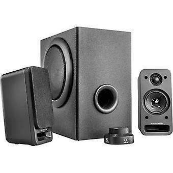 Wavemaster MX 3+ 2.1 PC speaker Corded 50 W Anthracite