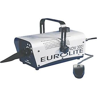 Snow machine Eurolite Snow 3001 incl. mounting bracket, incl. corded remote co