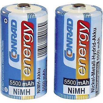 C battery (rechargeable) NiMH Conrad energy HR14 5500 mA