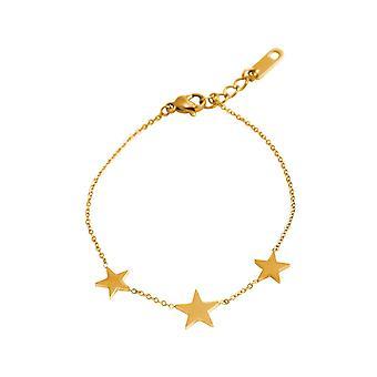 GEMSHINE Armband Silber, vergoldet oder rose vergoldet mit Verlängerungskettchen. Hochwertige Armkette mit Sternenkonstellation. Qualitätsvoller Schmuck.