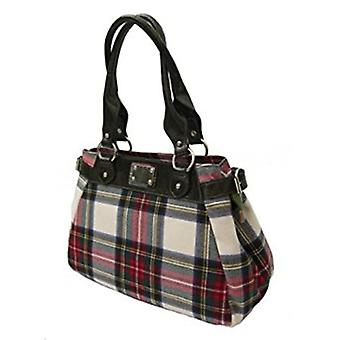 Tartan Handbag M (Stewart Dress)