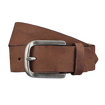 TOM TAILOR belt leather belts men's belts jeans belt Brown 4347