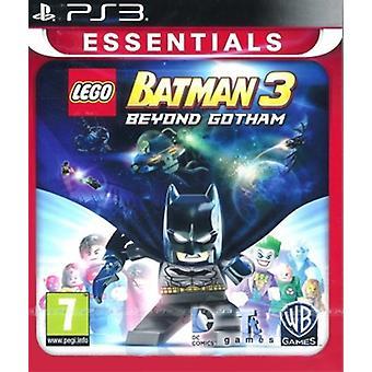 LEGO Batman 3 utanför Gotham - Essentials PS3 spel (engelska/nordisk Version)