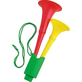 Green yellow red Horn Horn accessory Carnival Halloween