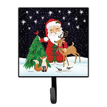 Carolines Treasures  VHA3033SH4 Santa Claus Christmas Leash or Key Holder