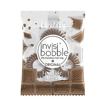 Invisibobble Cola para el Cabello Cheat Day #Crazy For Chocolate 3 Piezas