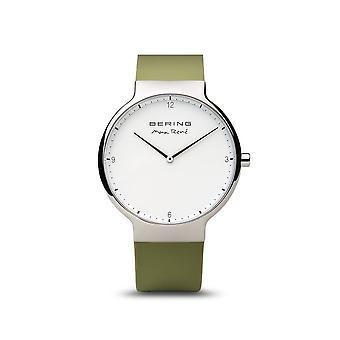 BERING - wrist watch - men's - Max René - shiny silver - 15540-800