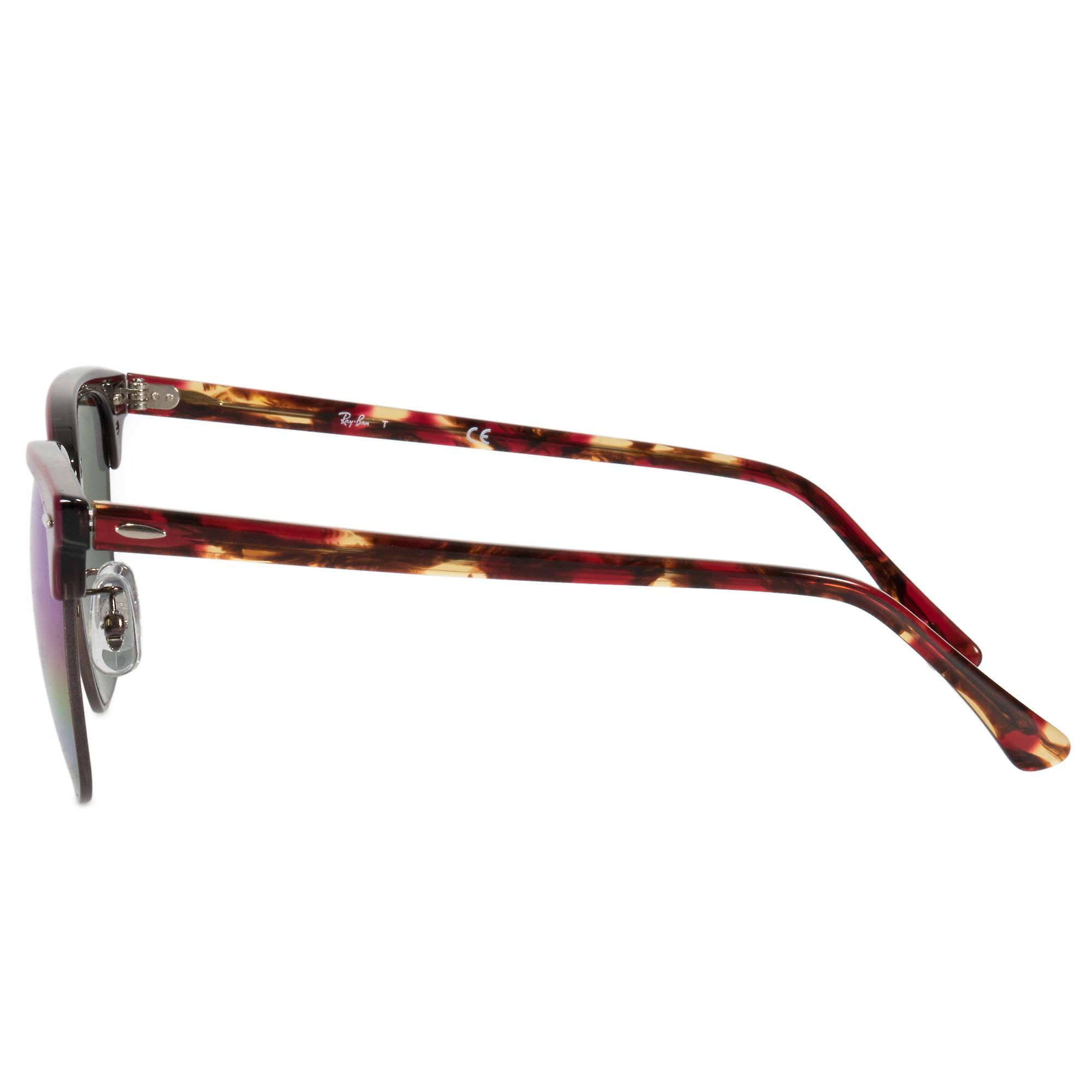 d2b0d486821a2 Ray-Ban Clubmaster Mineral Flash Lens Sunglasses RB3016-F 1222C2 55 ...