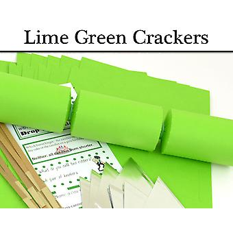 Lime Green Make & Fill Your Own Cracker Making Craft Kits, Boards & Accessories