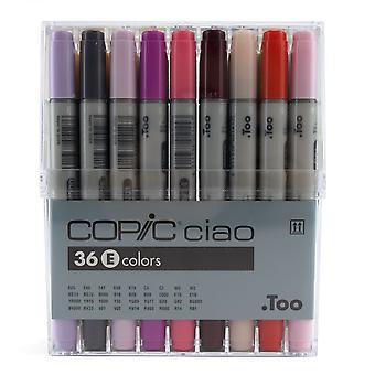 Copic Ciao 36 E Colours***
