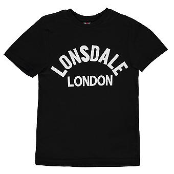 Lonsdale Kids Boys Arch T Shirt Junior Crew Neck Tee Top Short Sleeve