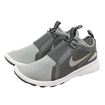 Nike Sportswear CURRENT SLIP ON-s Herren Sneakers Lauf-Schuhe Grau NEU Slipper