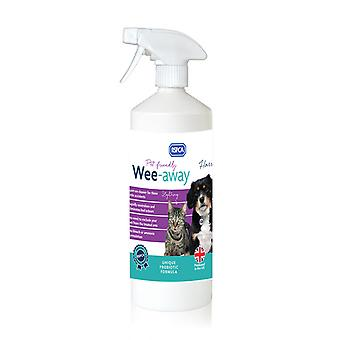 RSPCA Wee-Away Probiotic Pet Friendly Stain & Odour Remover 1Ltr