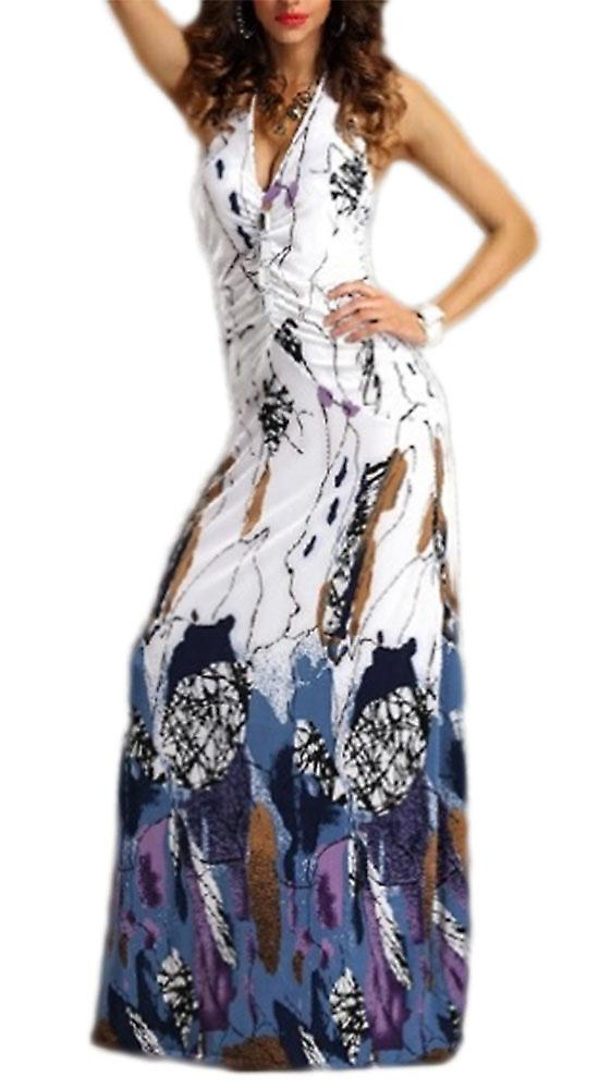 Waooh - Long Sundress abstract print Dool