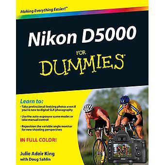 نيكون D5000 لالدمي أدير جولي كينغ-كتاب 9780470539699