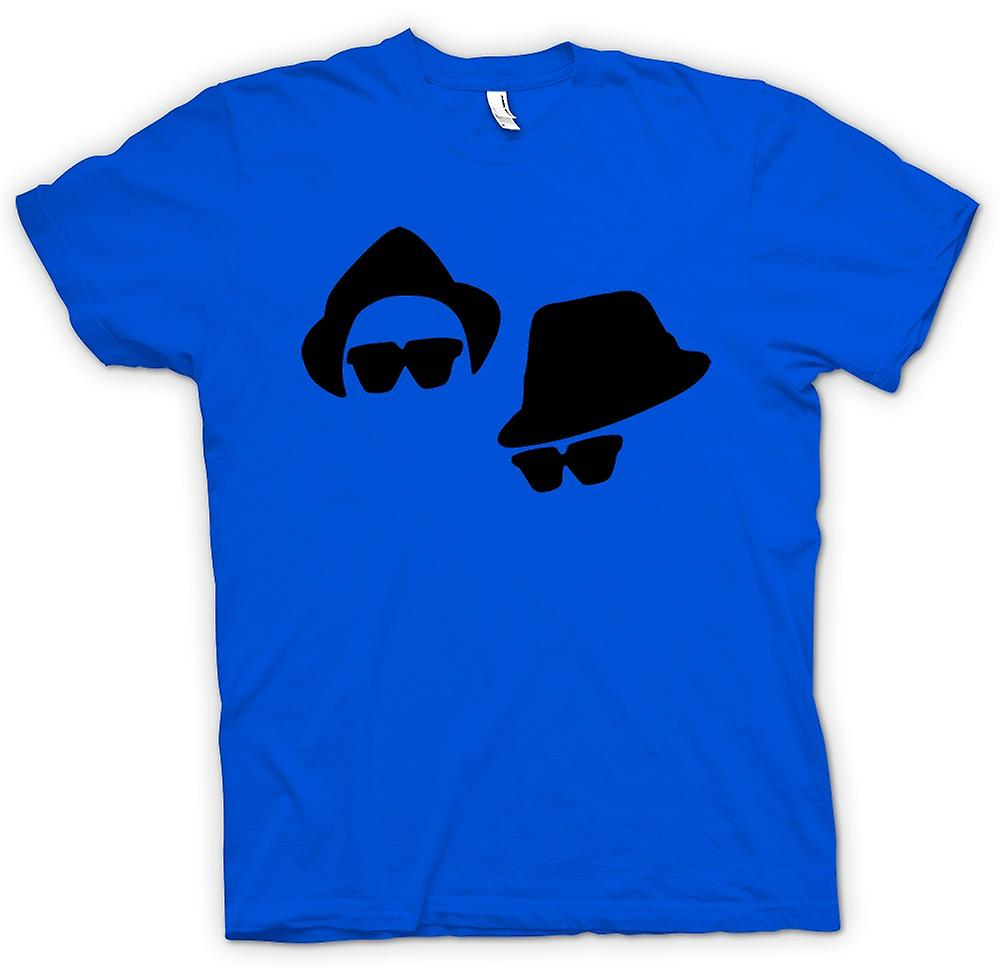 Hommes T-shirt - Blues Brothers visages