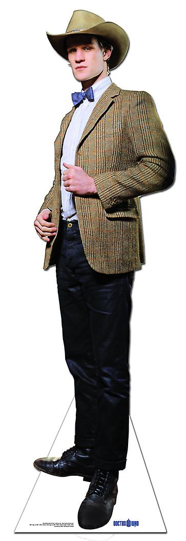 The 11th Doctor Stetson Cowboy Hat - Lifesize Cardboard Cutout / Standee (Matt Smith)