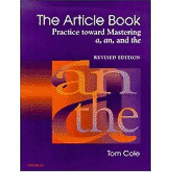 Article Book: Practice Toward Mastering A, An, and the