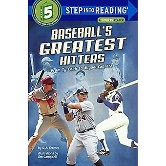 Baseball's Greatest Hitters: From Ty Cobb to Miguel Cabrera (Step Into Reading: A Step 5 Book (Paperback))