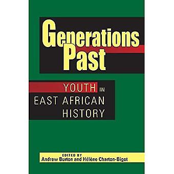 As gerações passadas: juventude na história da África Oriental