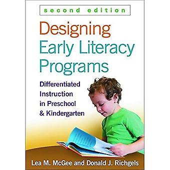 Programmes d'alphabétisation précoce conception: Pédagogie différenciée en éducation préscolaire et maternelle